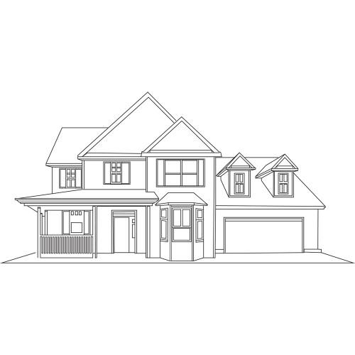 Lucas Developments House Illustration
