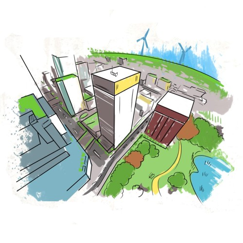 EWFA City Illustration