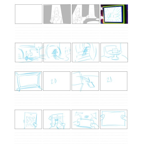 tower one storyboard
