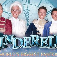 Cinderella Advert Banner