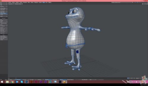 Painting Pixels Cinderella Dudley 3D Wireframe
