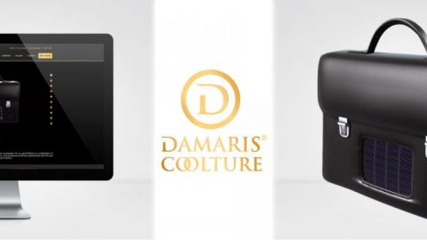 Damaris Mode Coolture Bespoke Website Design and 3D Animation
