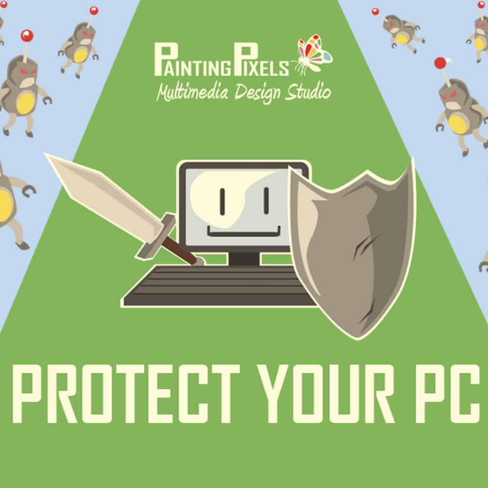 Protect Your Computer Icon