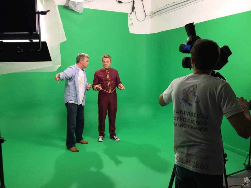 Green Screen Filming