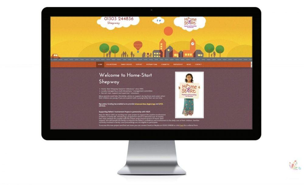 charity website design local Ipswich Suffolk