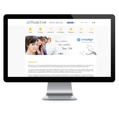 Orthoactive Website