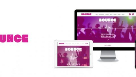 Bounce Events - Website Design and Branding 1