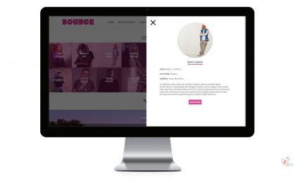 Bounce Events - Website Design and Branding 6