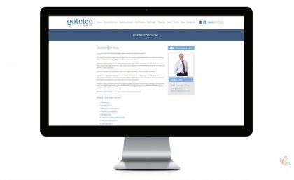 Gotelee Solicitors - Bespoke Interactive Website Design and Web Animation 1
