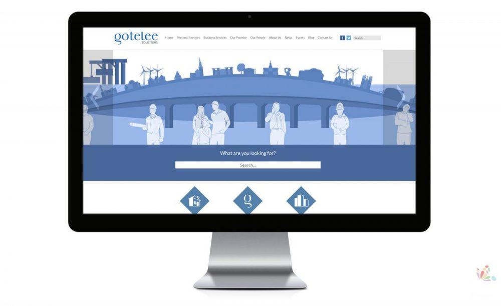 Gotelee Website Ipswich Suffolk Design