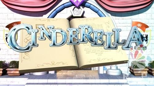 Cinderella 3D Title