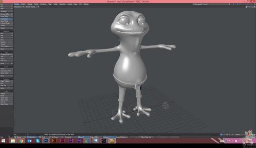 Painting Pixels Cinderella Dudley 3D Modelling