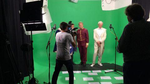 Painting Pixels Filming