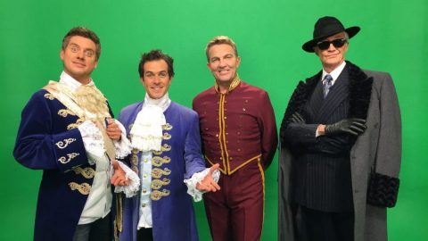 Painting Pixels Celebrity Green Screen Video Filming Video Production London Ipswich