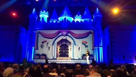 Painting Pixels Photos of Cinderella Stage Screen