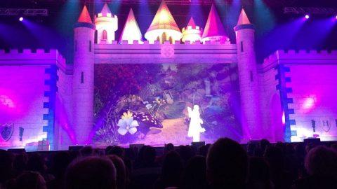 Painting Pixels Cinderella Stage