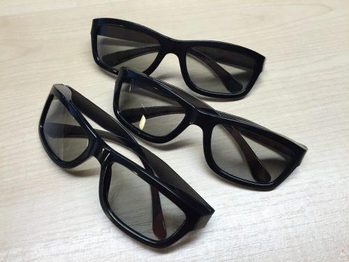 Painting Pixels polarised glasses