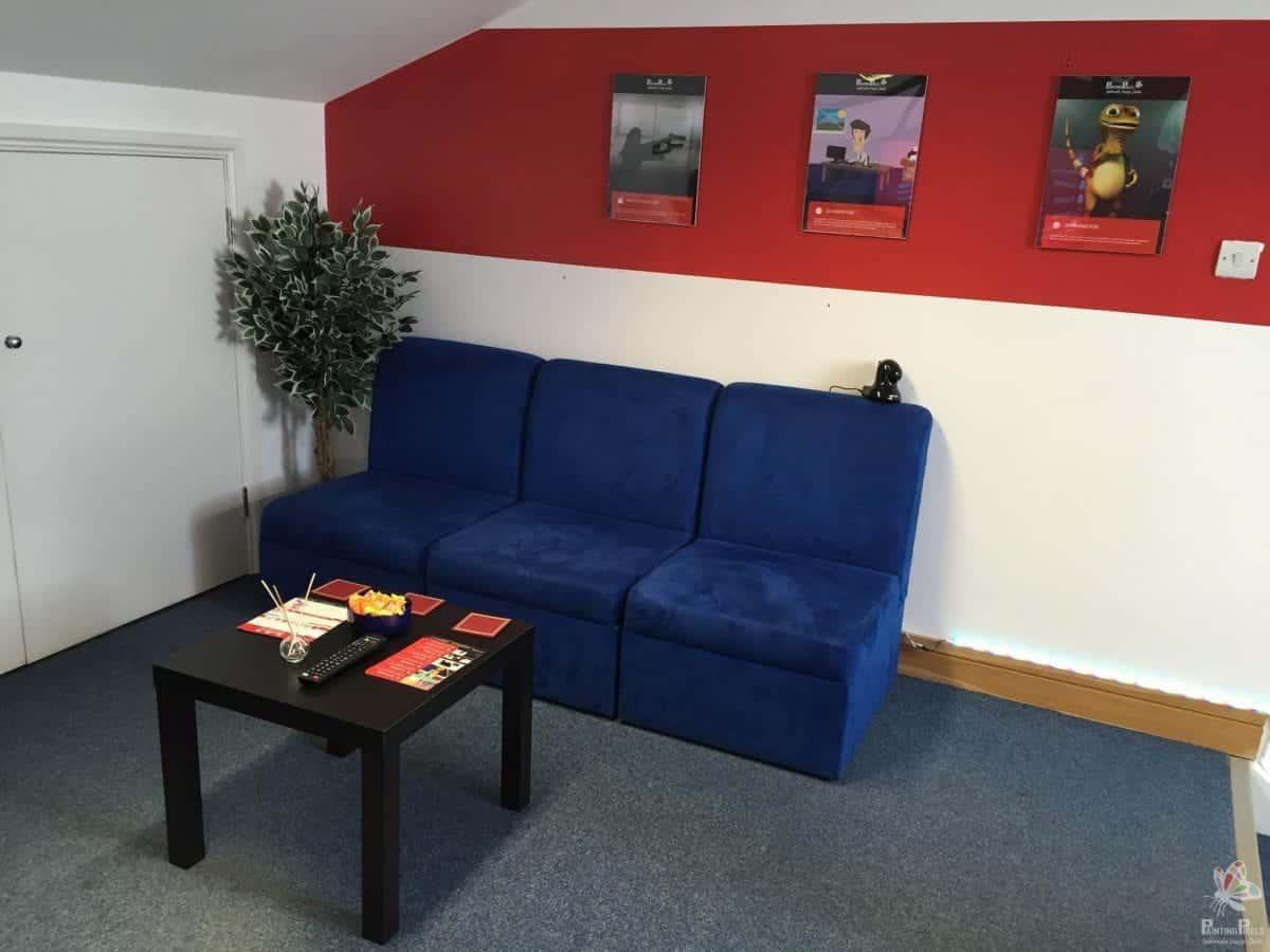 Painting Pixels Chillout Lounge