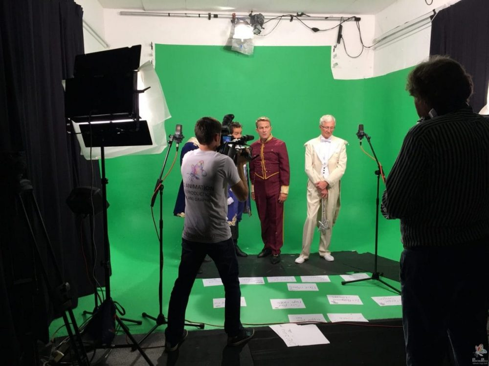 Green Screen Rehearsal Video production London Studio Ipswich