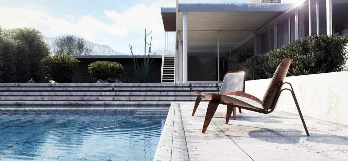 Architectural Visualisation on Interactive Floor Plan Design Service