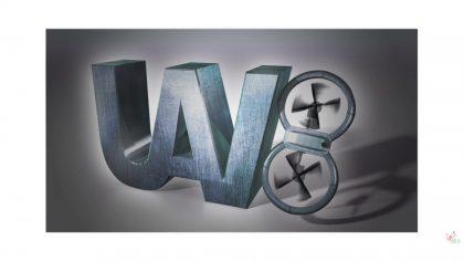 uav8 3d logo master