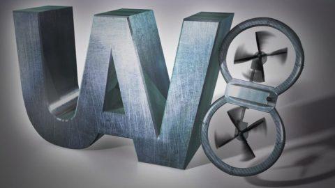 UV8 3D Logo Design