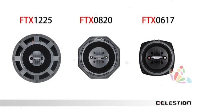3D Animation of the Celestion FTX Product Range 10