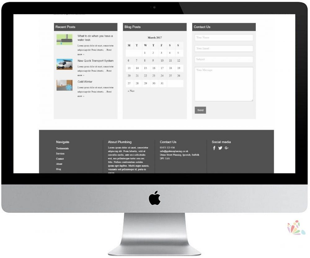 PP Brochure Website Design 2