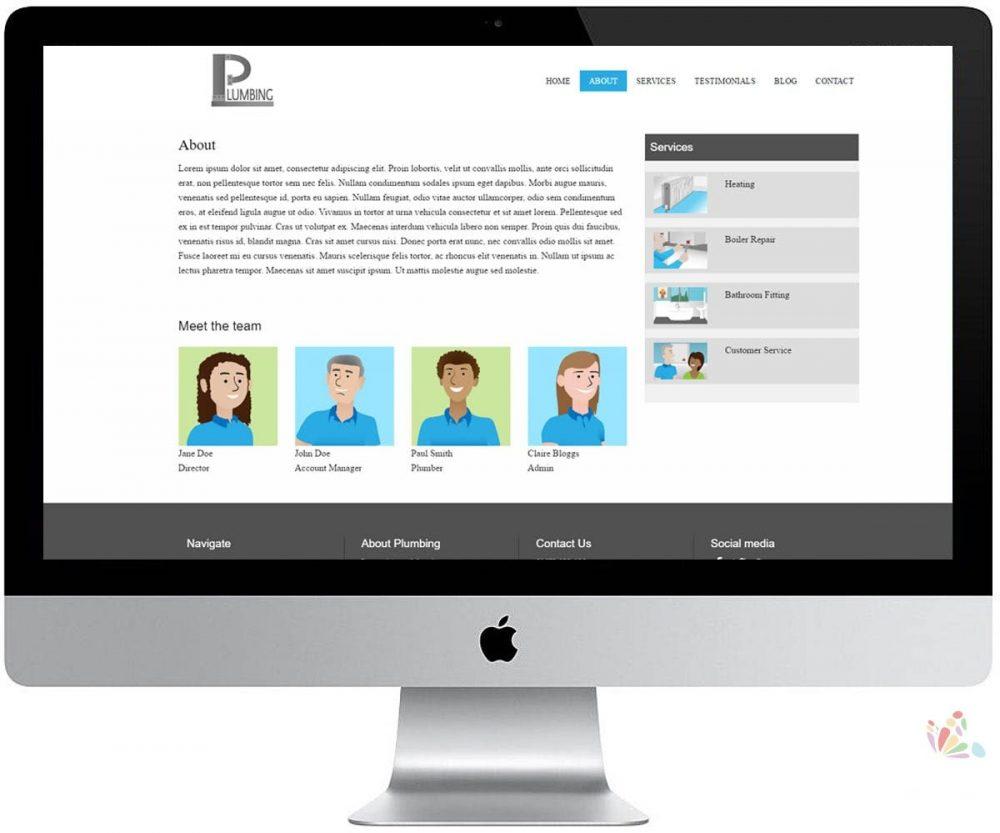 PP Brochure Website Design 1