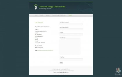 Corporate Energy Direct Limited - Logo and Website 8