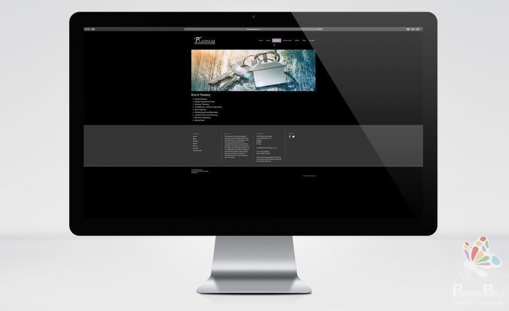 Ipswich Cleaning Platinum website design web suffolk - 1