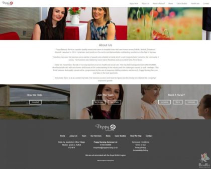 Poppy Nursing - Responsive Website 14