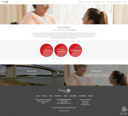 Poppy Nursing - Responsive Website 13