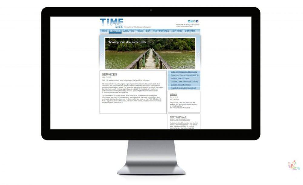 Time CSL Website design service