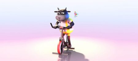 3D and Motion Graphics Animation for Woolly Ride Fest 17