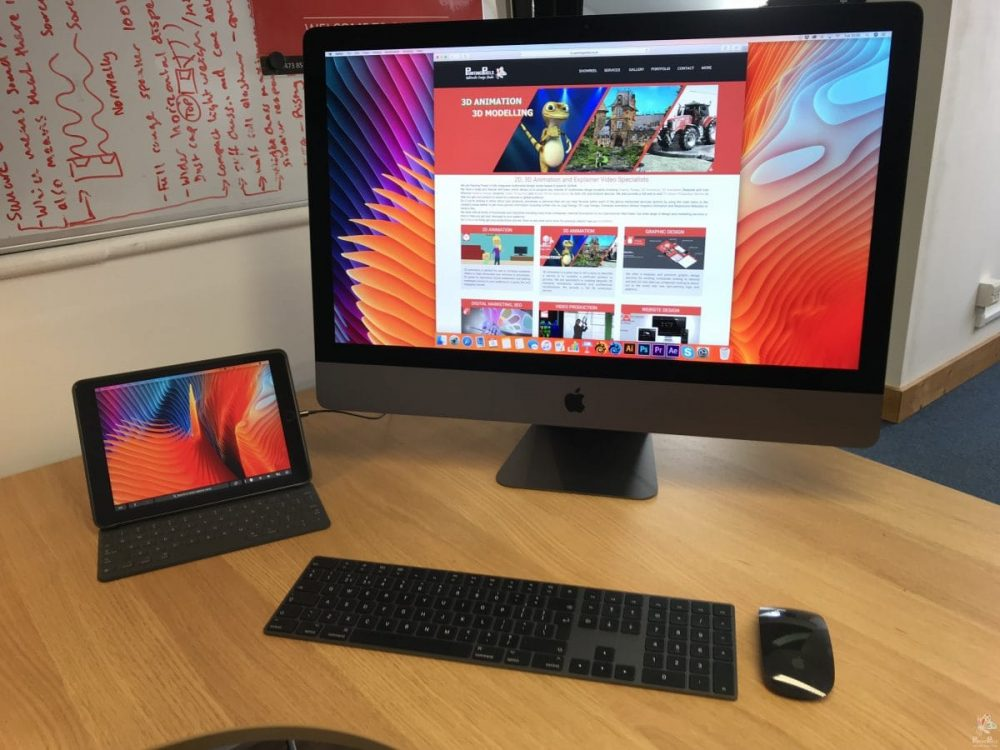 Apple iMac Pro for Digital Content Marketing Ipswich Suffolk