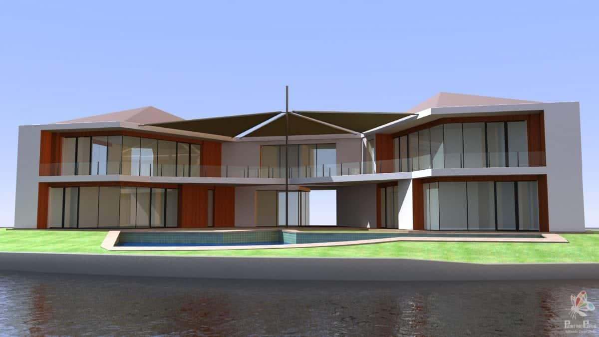 3D Architectural Visualisation Ipswich - DB House - 1