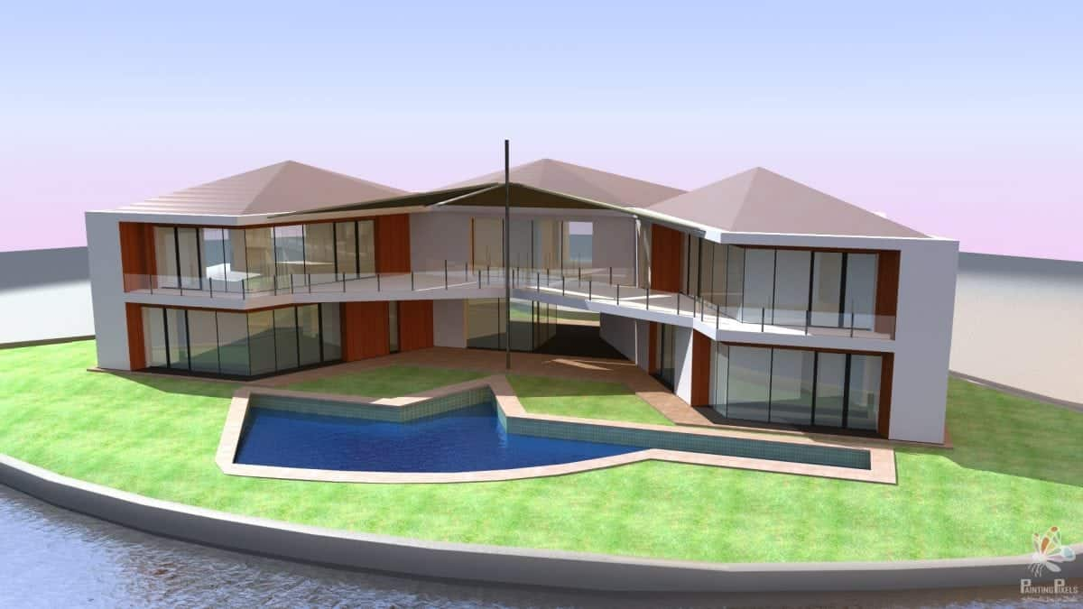 3D Architectural Visualisation Ipswich - DB House - 3