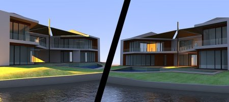 3D Architectural Concept Visualisation for NEXT Design
