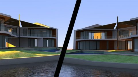DB 3D Architectural Banner