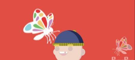 Butterfly Boy 2D Animation