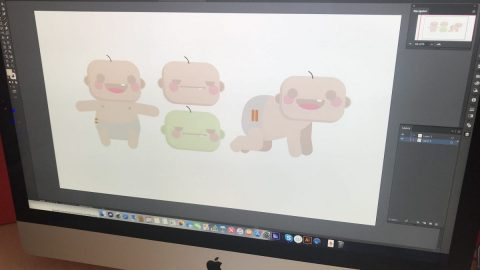 Painting Pixels Character Design 2D Animation Motion Graphics - Ipswich Suffolk 01