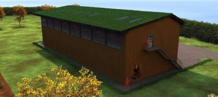 3D Architectural Modelling and Render for Big Bear Cider