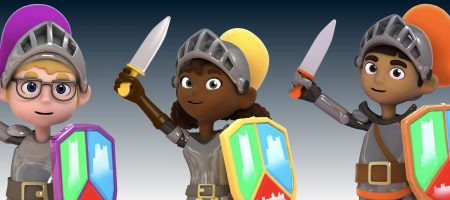 Castle Hill Primary 3D Character Animations