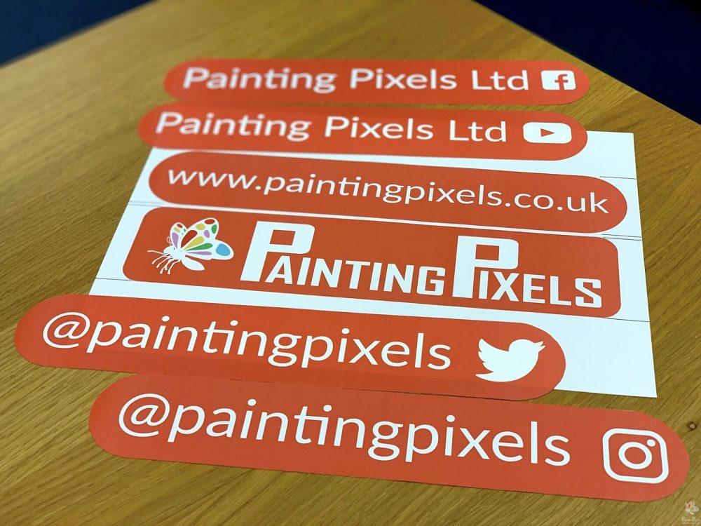Painting Pixels Digital Marketing Animation Graphics Company Ipswich Suffolk London Stickers Modball Car