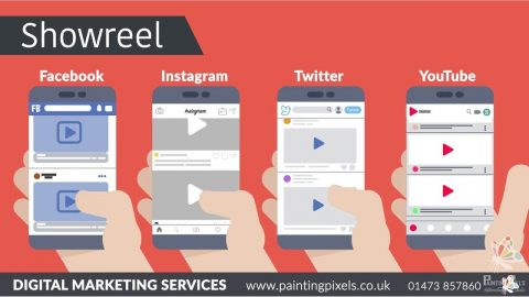 Painting Pixels Ipswich Suffolk Multimedia Design Studio Digital Marketing Animation Graphic Design 3D