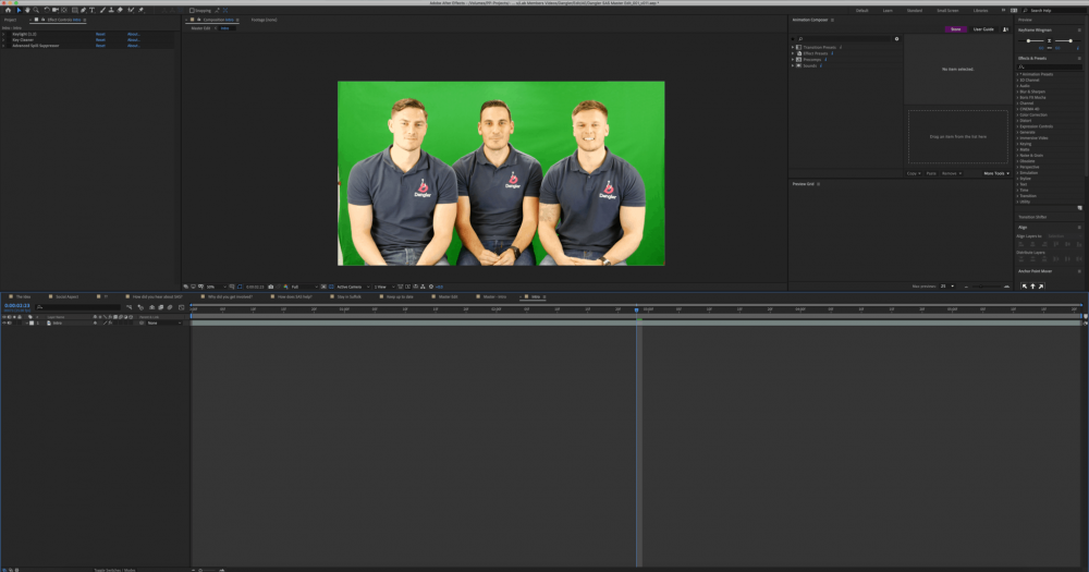 Dangler Painting Pixels Ipswich Suffolk After Effects Video Editing Premier Pro Motion Graphics Green Screen Multi Media Design Studio