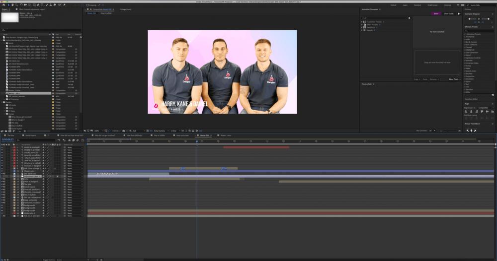 Dangler Painting Pixels Ipswich Suffolk After Effects Video Editing Premier Pro Motion Graphics Green Screen Multi Media Design Studio 2