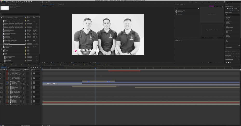 Dangler Painting Pixels Ipswich Suffolk After Effects Video Editing Premier Pro Motion Graphics Green Screen Multi Media Design Studio 3