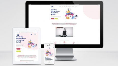 Shout About Suffolk Painting Pixels Web Design Studio Digital Graphics